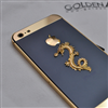 iPhone 5 Golden Armor Dragon Gold 24K Black