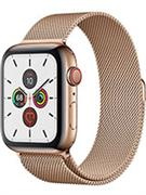 Apple Watch 44mm Series 5 (Gold Stainless Steel Case with Gold Milanese Loop)